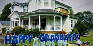 Graduation Yard Card
